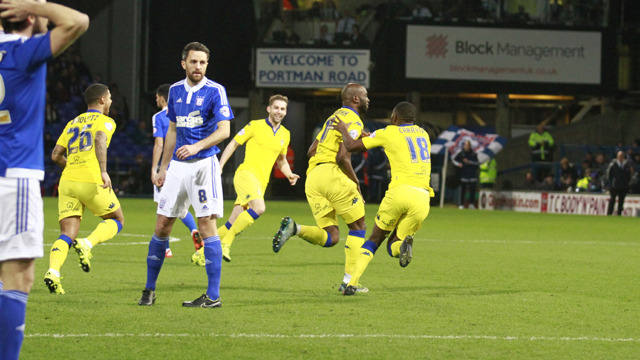 REPORT: IPSWICH SNATCH LATE WIN