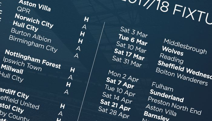 SYNC OUR 2017/18 FIXTURES TO YOUR DEVICE