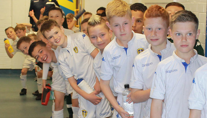 ACADEMY: YOUNGSTERS GET ELLAND ROAD EXPERIENCE