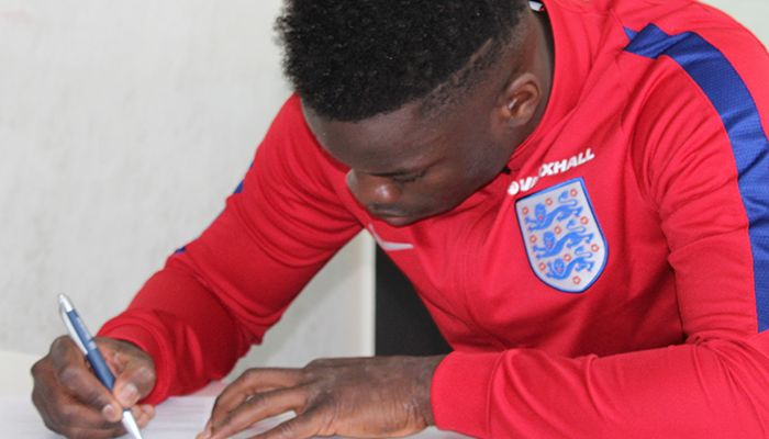 WATCH: RONALDO VIEIRA ON NEW DEAL