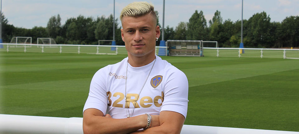 Ezgjan Alioski joins Leeds United
