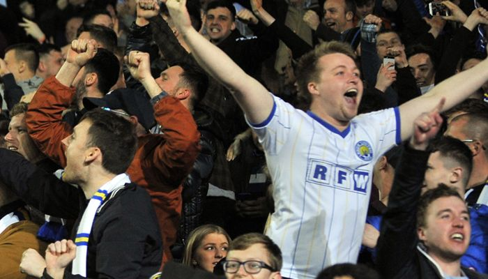 LEEDS BREAK SEASON TICKET RECORD