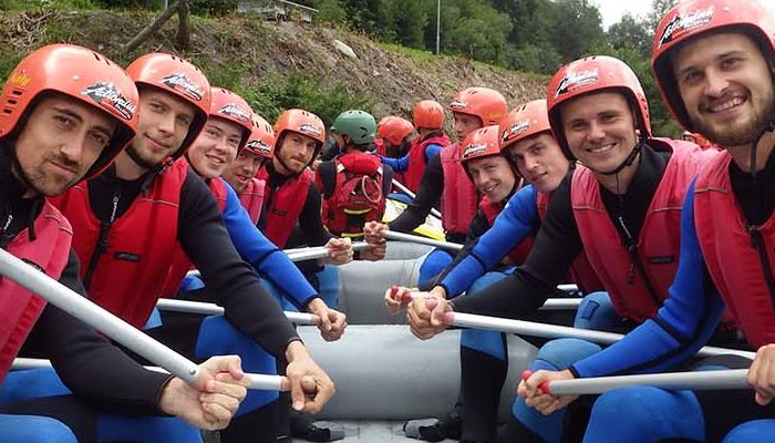 GALLERY: AUSTRIA WHITE WATER RAFTING
