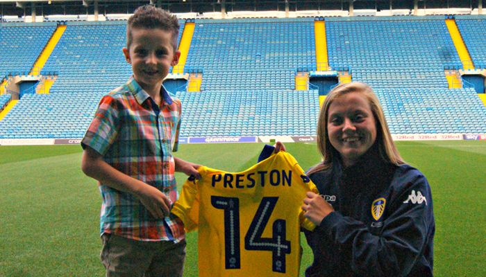 YOUNG WHITES FAN RAISES MONEY FOR THE FOUNDATION