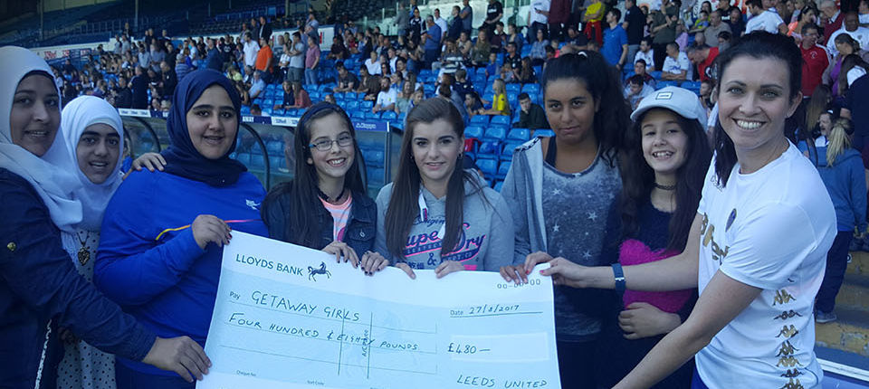 WHITES LADIES RAISE CASH FOR LOCAL CHARITY