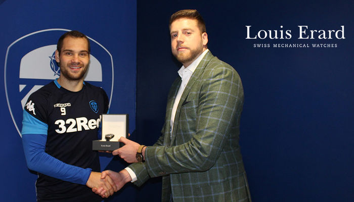 LOUIS ERARD: LASOGGA NAMED PLAYER OF THE MONTH