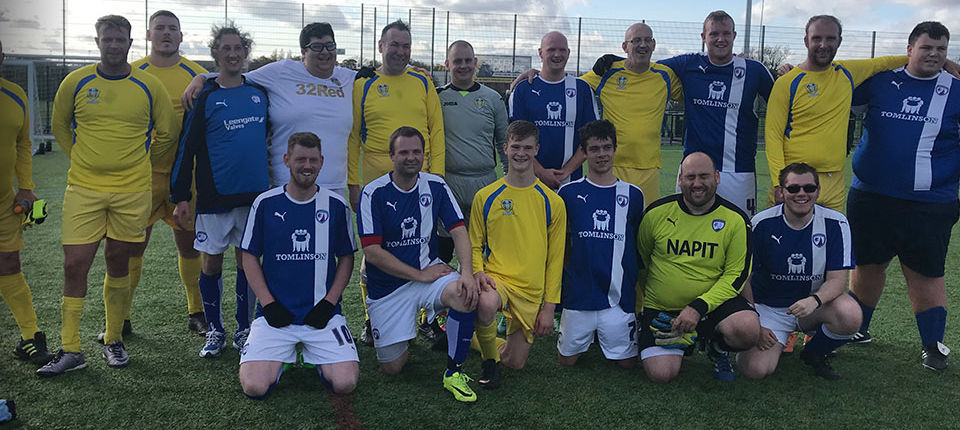 DISABILITY FOUNDATION TEAM MAKE MATCH DEBUT
