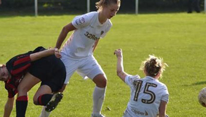 LEEDS UNITED LADIES WIN 13-0 IN CUP CLASH