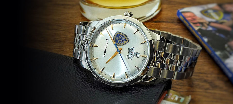 EXCLUSIVE LOUIS ERARD LEEDS UNITED TIME PIECES LAUNCHED