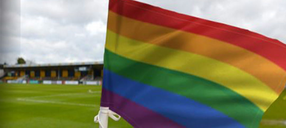 LEEDS UNITED SUPPORT LGBT CAMPAIGN