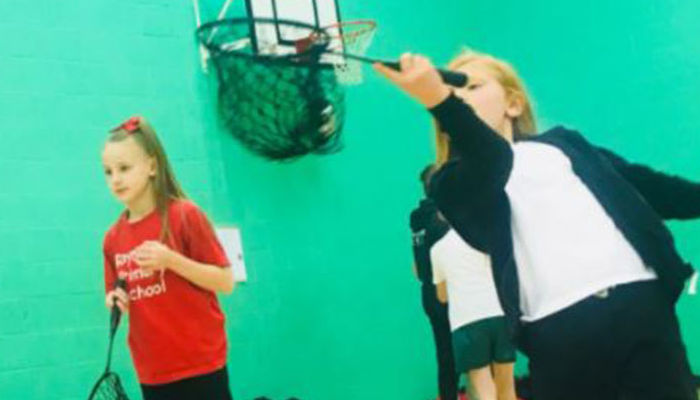 SCHOOL PUPILS ENJOY FOUNDATION BADMINTON PROGRAMME
