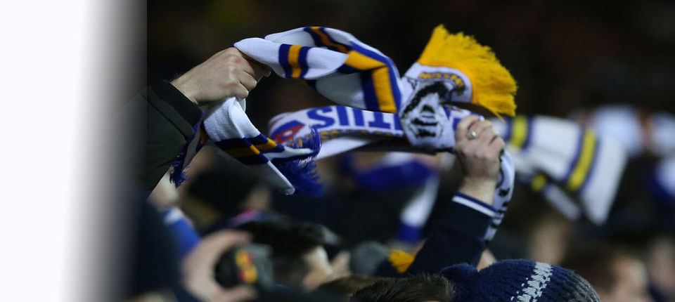 ELLAND ROAD SET FOR SCARF SPECTACULAR
