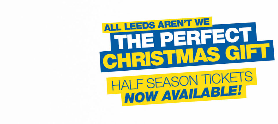 LAST CHANCE TO GET HALF SEASON TICKETS