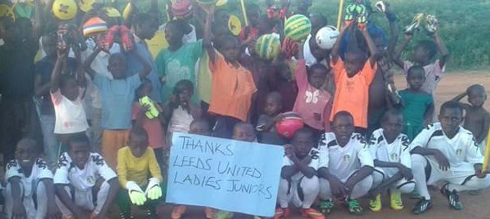 UGANDAN ORPHANAGE RECEIVES LEEDS LADIES CHRISTMAS GIFT