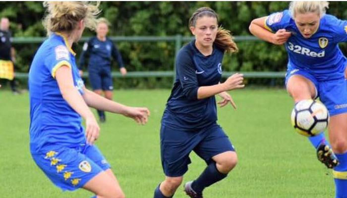 LEEDS UNITED LADIES PREPARE FOR MAGPIES CLASH
