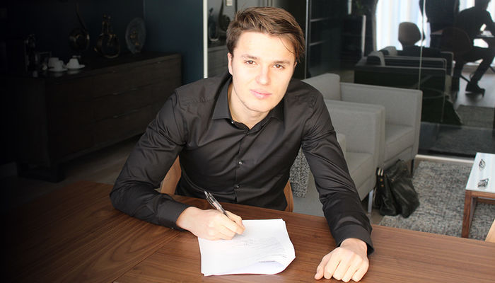 OLIVER SARKIC SIGNS PERMANENT DEAL