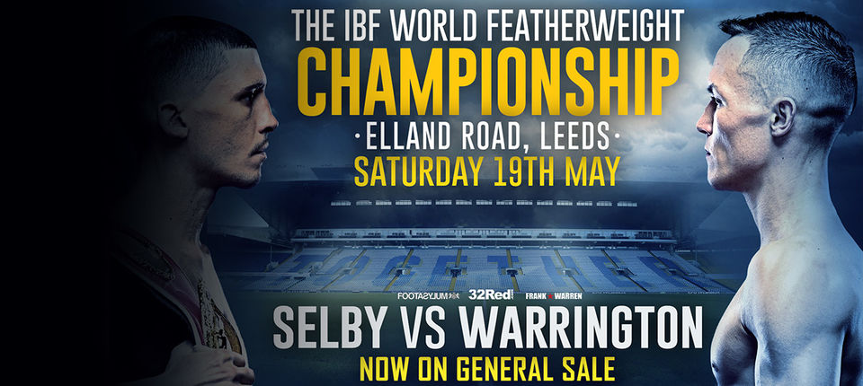 JOSH WARRINGTON V LEE SELBY TICKETS