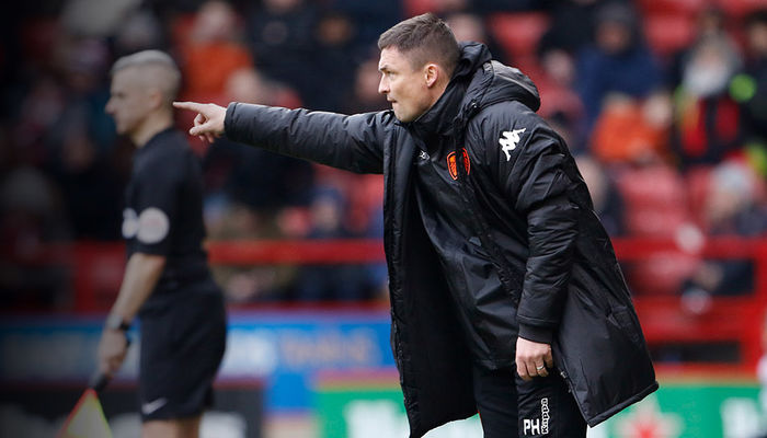 PAUL HECKINGBOTTOM: WE WERE ON THE BACK FOOT