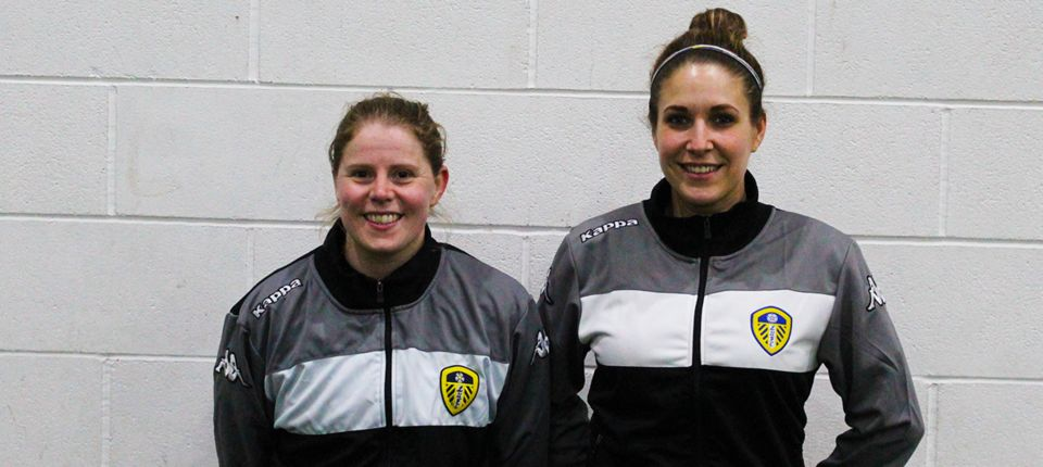 PARKIN AND FINDLAY JOIN LEEDS UNITED LADIES
