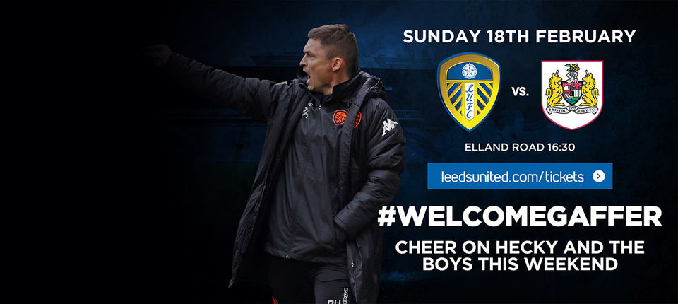 DON'T MISS PAUL HECKINGBOTTOM'S FIRST HOME GAME