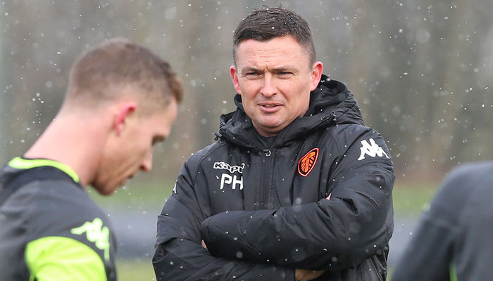 PAUL HECKINGBOTTOM: WE HAVE MORE OR LESS A FULL SQUAD