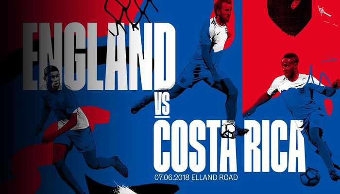Trực tiếp Anh vs Costa Rica: Bài test cuối cùng