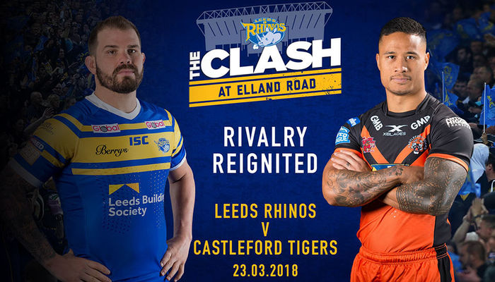 RUGBY LEAGUE RETURNS TO ELLAND ROAD