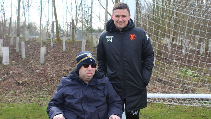 Phil Cummings visits Thorp Arch