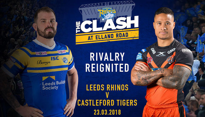 RHINOS AND TIGERS NAME SQUADS