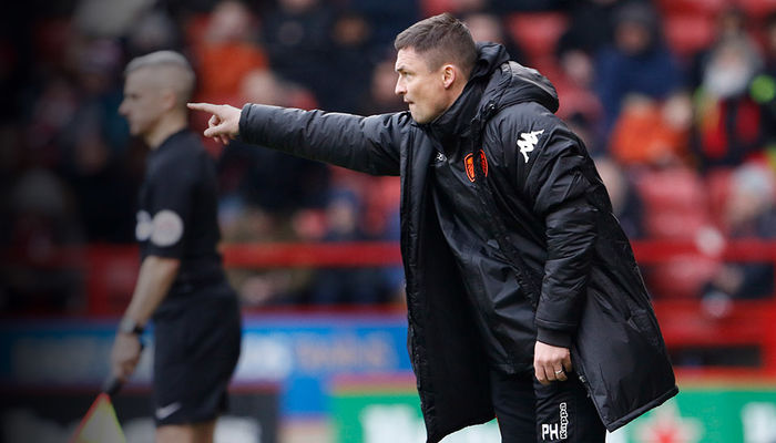 PAUL HECKINGBOTTOM: WE WANT THE POINTS