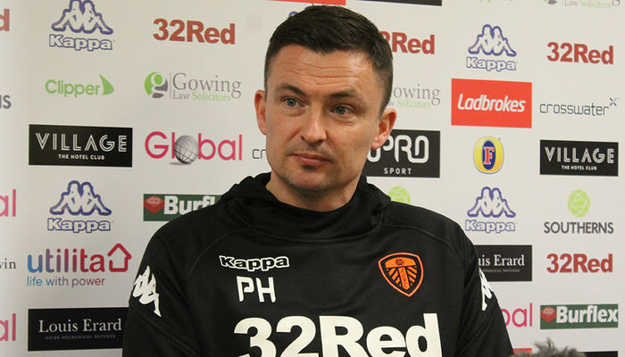 PAUL HECKINGBOTTOM: WE HAVE TO BE POSITIVE