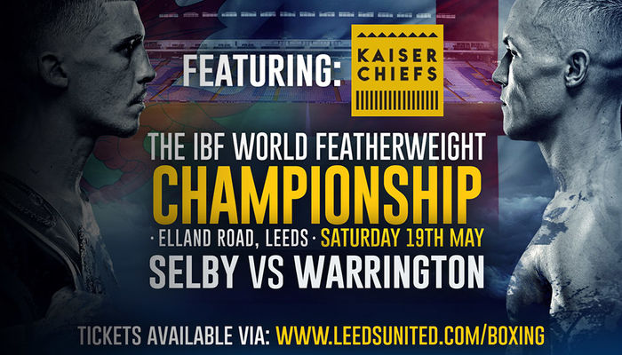 KAISER CHIEFS TO PLAY AT JOSH WARRINGTON FIGHT