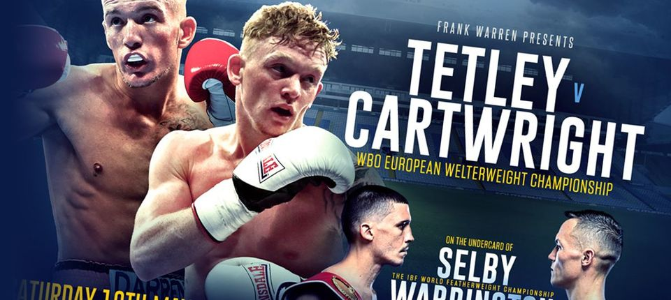 MASON CARTWRIGHT: I PROMISE TETLEY A LONG, PAINFUL NIGHT!