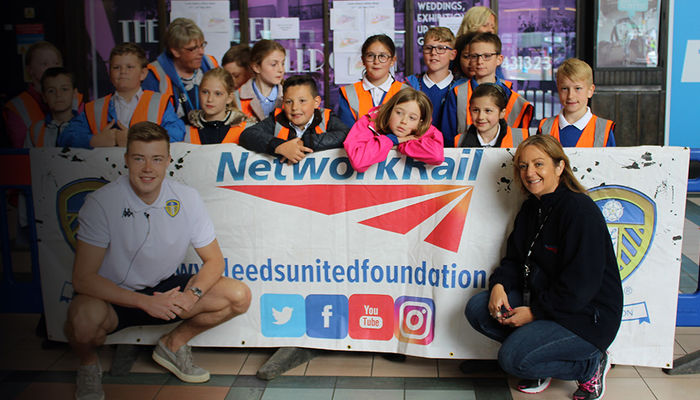 FOUNDATION SUPPORTS LEEDS STATION SAFETY WEEK