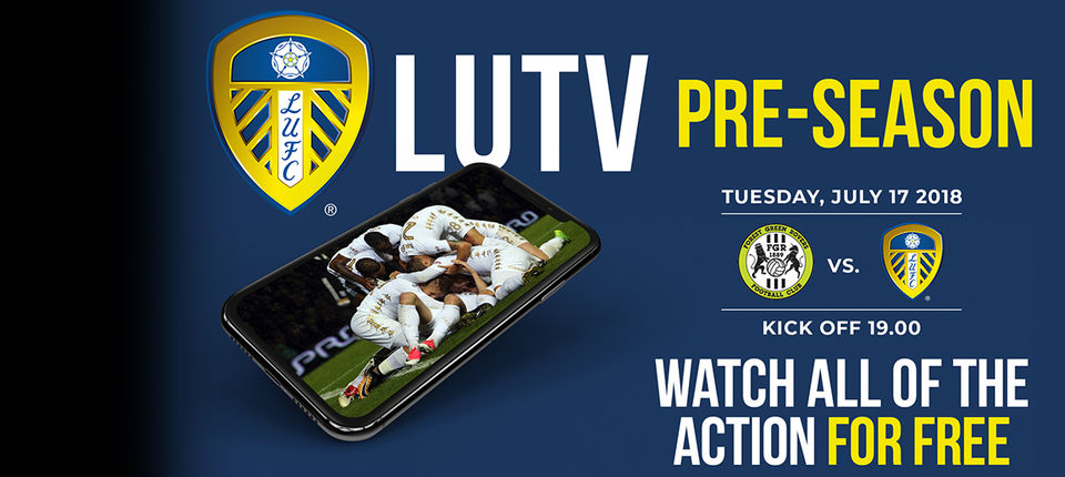 WATCH: FOREST GREEN ROVERS V LEEDS UNITED