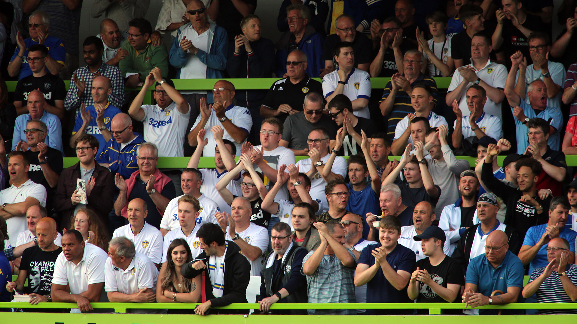 Leeds fans Forest Green