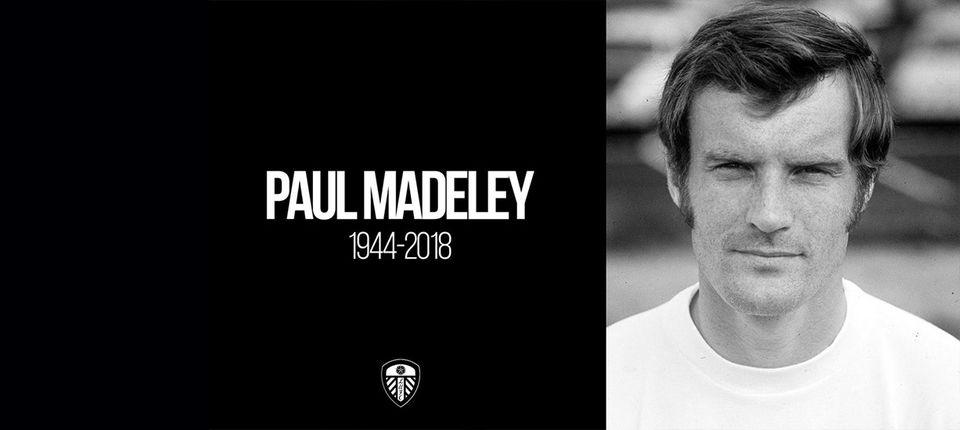 RIP PAUL MADELEY
