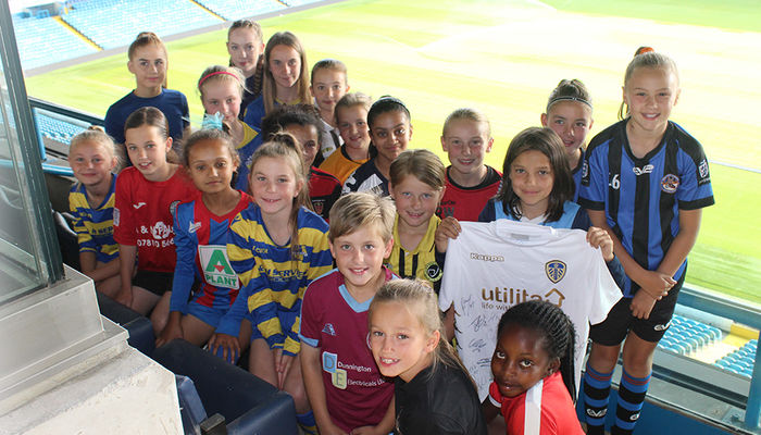 NEW RTC GIRLS SIGNED FOR FOUNDATION