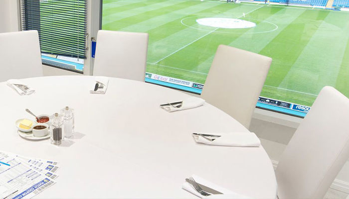 EXECUTIVE BOXES ARE THE ONLY SEATS AVAILABLE ON SATURDAY