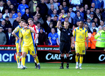 NO APPEAL AGAINST BILL\'S RED CARD