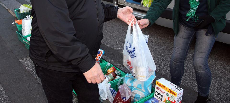 Foodbank Back For Bristol Leeds United