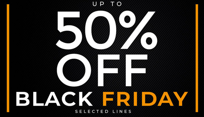 BLACK FRIDAY IS HERE