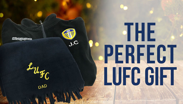 LEEDS UNITED PERSONALISED EMBROIDERY SERVICE