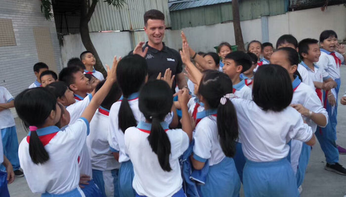 FOUNDATION COACHES IN CHINA