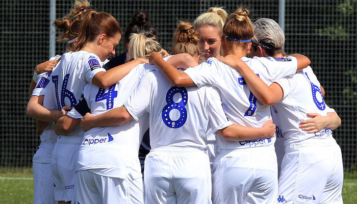 LADIES EXIT LEAGUE CUP AFTER NINE GOAL THRILLER