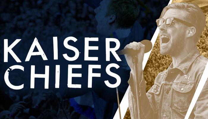KAISER CHIEFS AT ELLAND ROAD