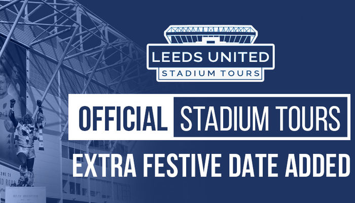 EXTENDED STADIUM TOURS AVAILABLE