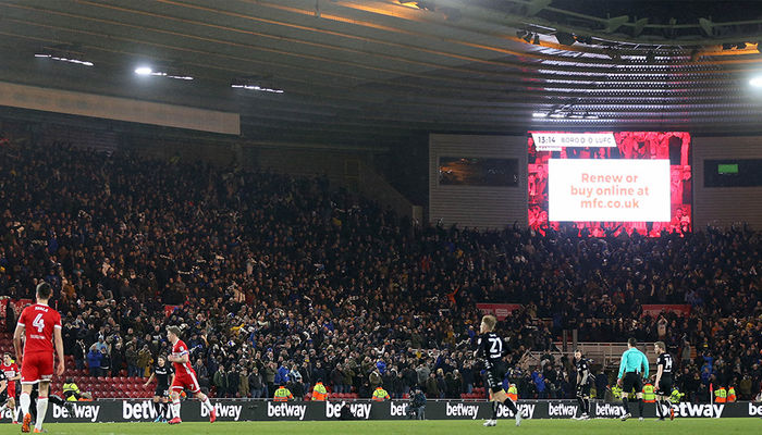 MIDDLESBROUGH KICK-OFF TIME CHANGED