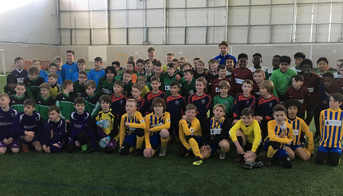 EFL KIDS CUP AT THORP ARCH