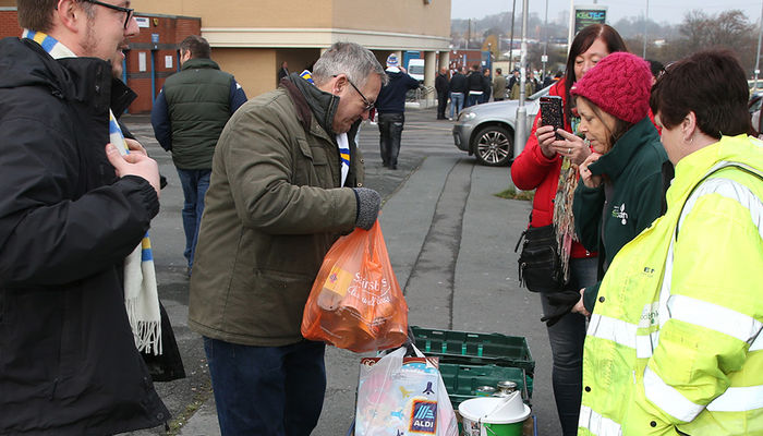 FOODBANK BACK FOR NORWICH CITY